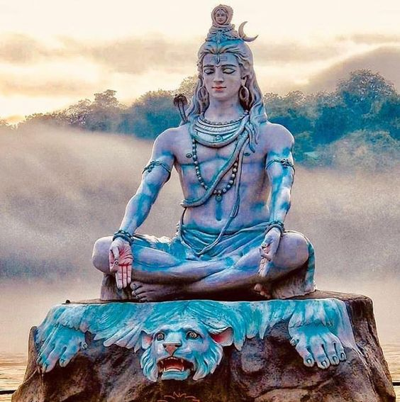 Lord Shiva in Cloud HD Shiv Background Pictures