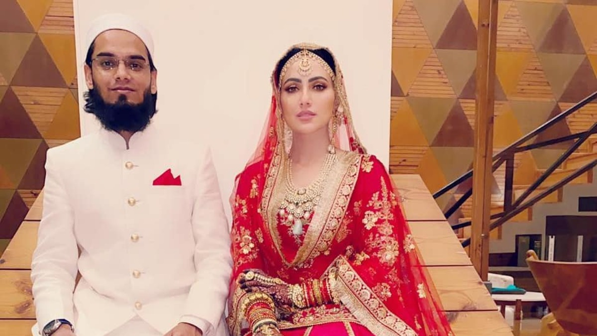 Thank you for being in my life: Sana Khan's husband Anas Sayed pens  romantic note for wife | Celebrities News – India TV