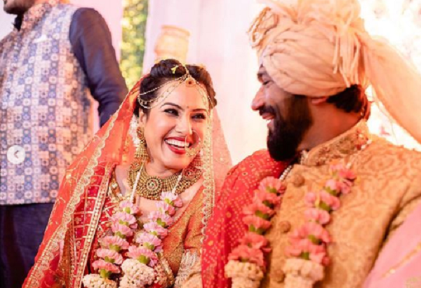 Kamya Punjabi's wedding pictures go viral; troll asks, 'you have kids, why  remarry'