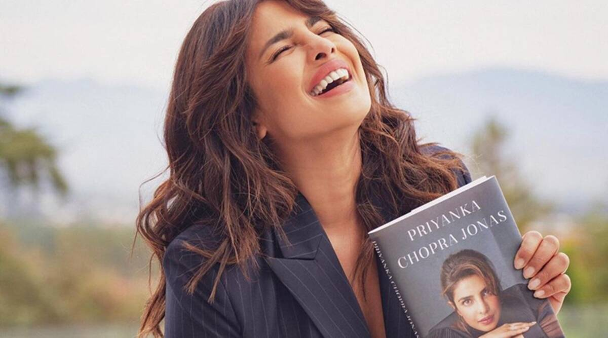 Priyanka Chopra's memoir Unfinished launch: 'Give this first-time-author a  chance' | Entertainment News,The Indian Express